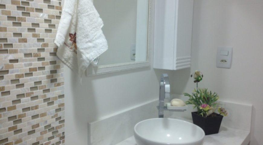 Projeto e execução de banheiros em apartamento na Barra da Tijuca