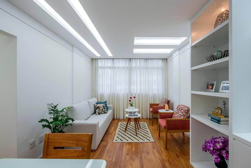 Projeto de arquitetura em apartamento na Tijuca