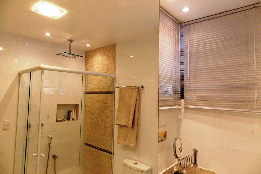 Projeto de arquitetura - Banheiro / apartamento Tijuca - Georgia Barbosa