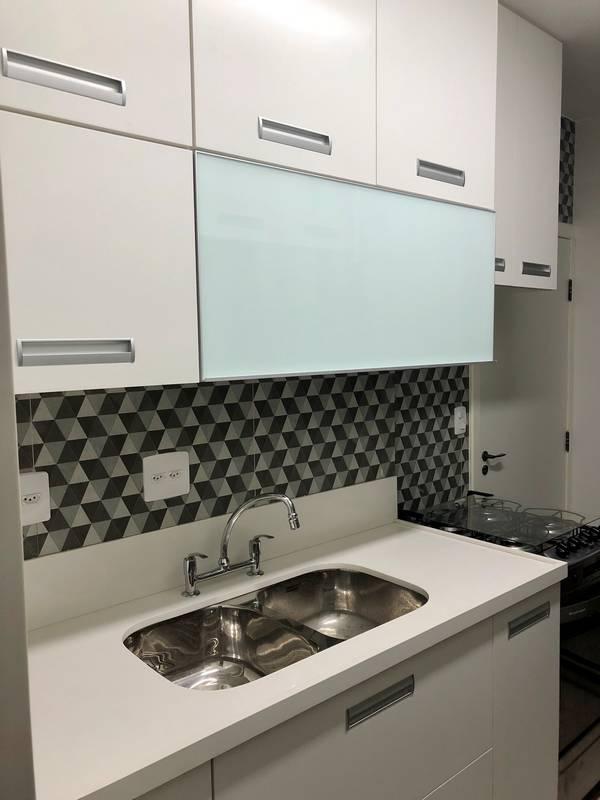 Reforma de apartamento quarto e sala no Catete
